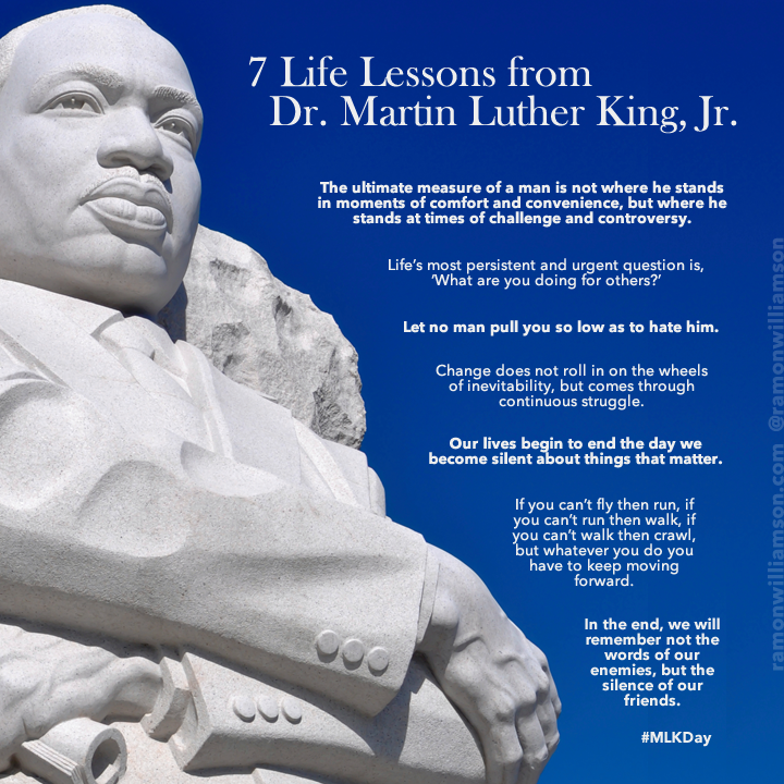 7 Life Lessons from Dr. Martin Luther King, Jr.
